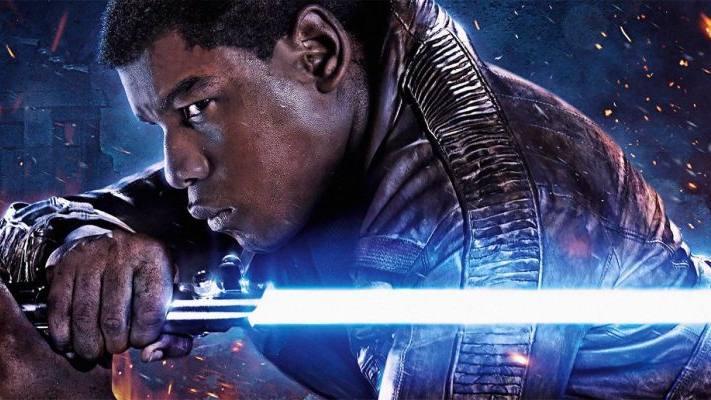 John Boyega Finn Star Wars Poster