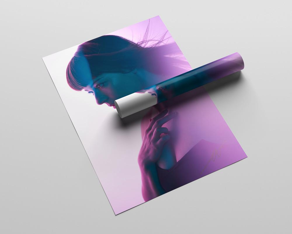 Alison Garner - Shapes of Mine Poster