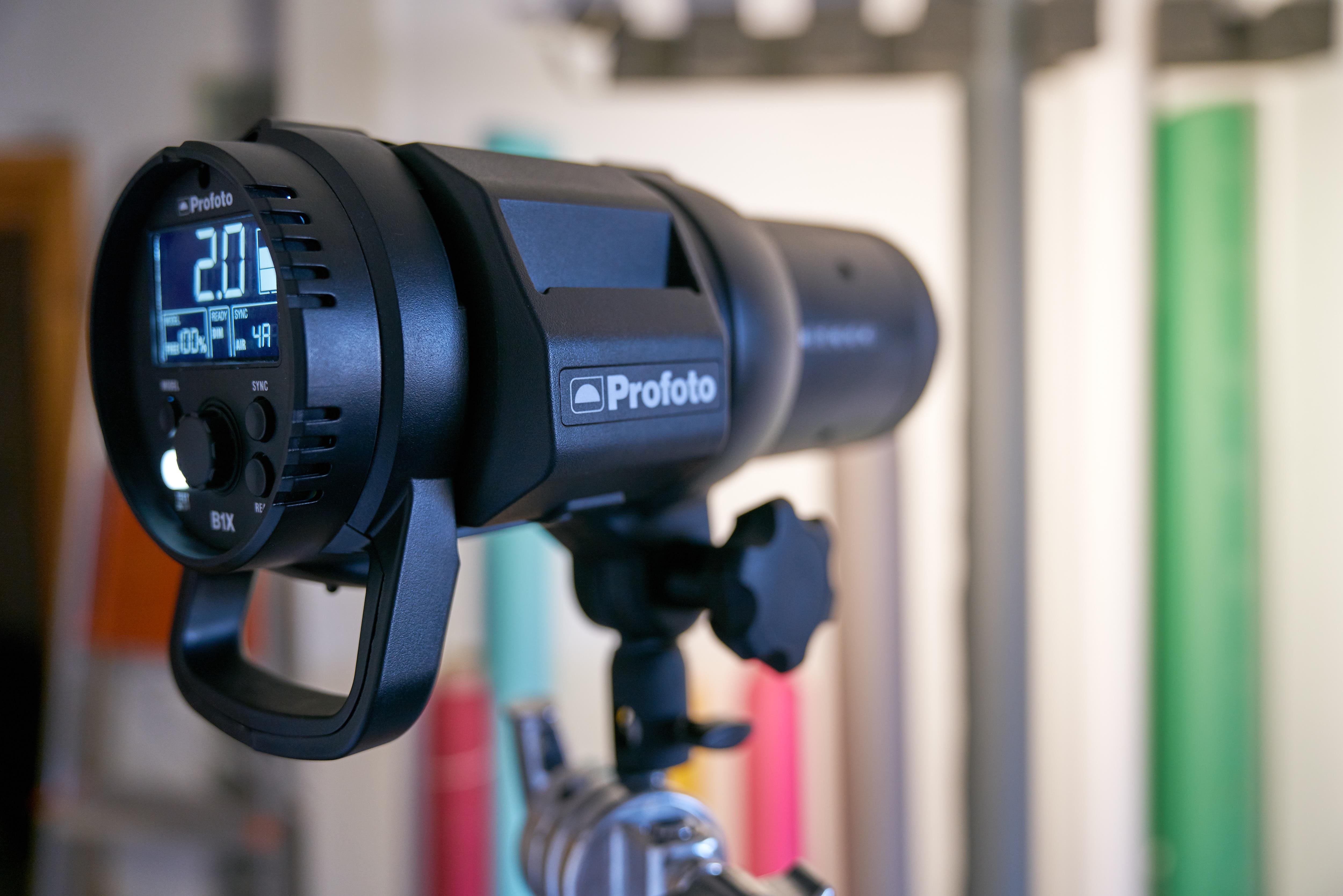 Close up of Profoto B1x - Roberto Vivancos Studio