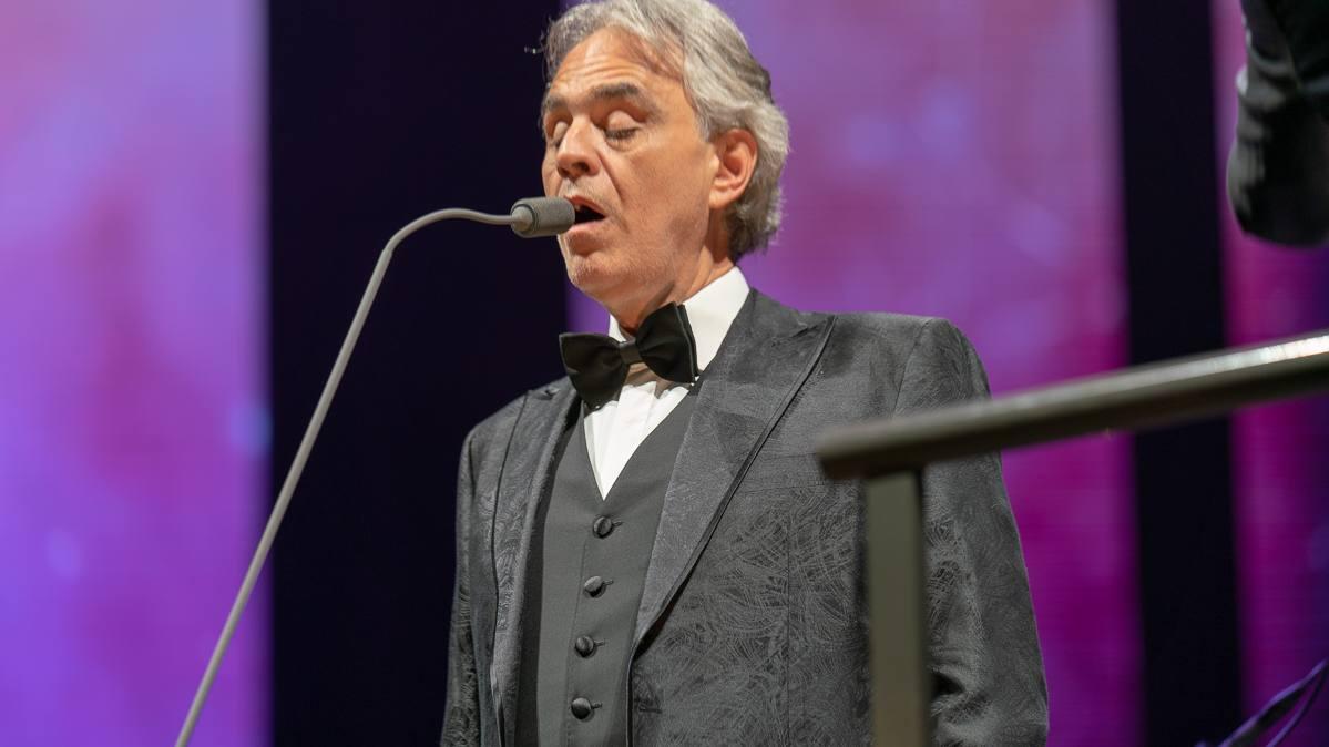 Andrea Bocelli Copenhagen