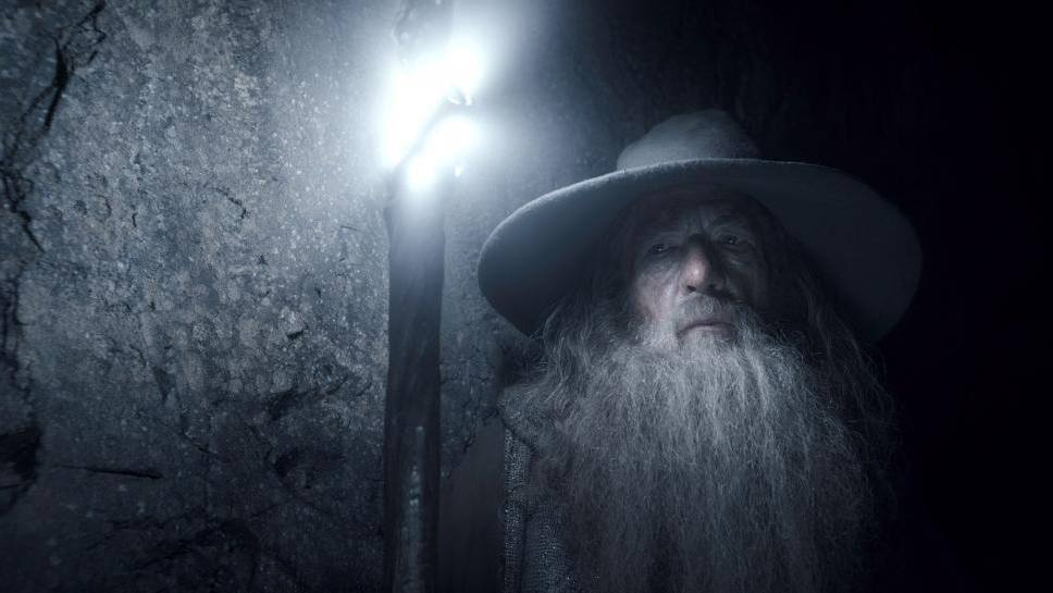 Gandalf the Grey, Ready for Light Painting Photography